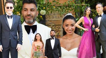 Zeynep Bastık ile Tolga Akış evlendi... Düğüne ünlü akını