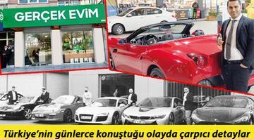 'Evim' görünümlü saadet zinciri Markette reyoncuydu Ferrari aldı...