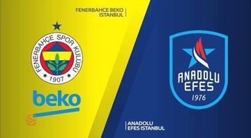Euroleague fikstürü açıklandı Anadolu Efes ve Fenerbahçe Bekonun maçları...