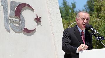 Cumhurbaşkanı Erdoğan: Kimse bu şanlı mücadeleyi önemsizleştiremez