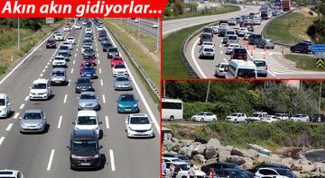 Tatilciler yola erken çıktı, trafik kilitlendi İşte son durum
