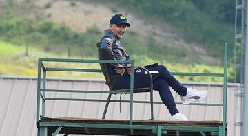 Fenerbahçede Vitor Pereiradan sıradışı yöntem O görüntü dikkat çekti