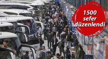 Otobüs biletleri tükendi Firmalar ek sefer koymaya başladı
