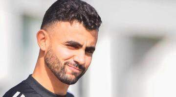 Transferi yılan hikayesine dönen Rachid Ghezzal, Leicester Citynin kampına katıldı