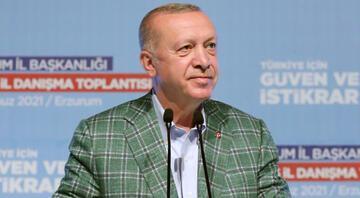 Cumhurbaşkanı Erdoğandan AK Parti teşkilatlarına kritik mesajlar