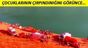 Günün en acı haberi... Amasyada baraj gölünde aile faciası