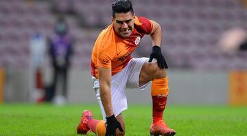Galatasarayda Radamel Falcao depremi