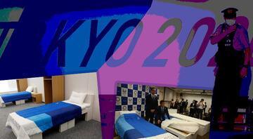 Tokyo Olimpiyatlarında seksi önlemek için karton yatak