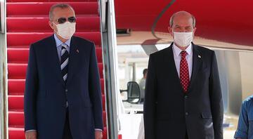 Cumhurbaşkanı Erdoğan KKTCde