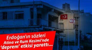 Erdoğanın sözleri Atina ve Rum Kesiminde deprem etkisi yarattı: Korktuğumuz başımıza geldi