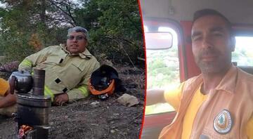 Manavgattaki yangından kahreden haber 2 işçi hayatını kaybetti
