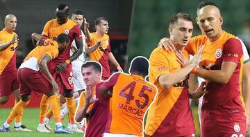 Giresunda ortalık karıştı Galatasarayda Marcao Kereme kafa atıp oyun dışı kaldı, Fatih Terim...