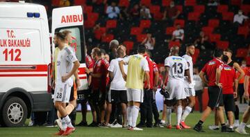 Beşiktaşlı futbolculardan NSakala sözleri