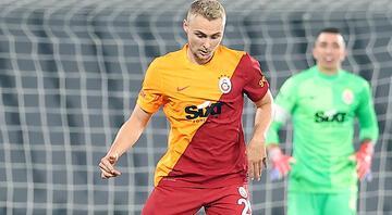 Galatasarayda Victor Nelssonun ilk maç mutluluğu