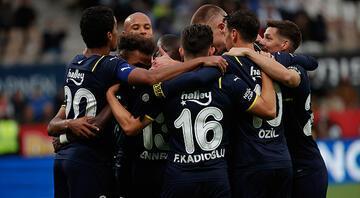 Son Dakika Haberi... Fenerbahçe, UEFA Avrupa Liginde gruplara kaldı Helsinkiyi 5-2 devirdi