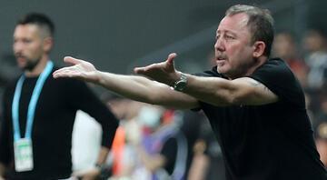 Beşiktaşta Sergen Yalçın, Cüneyt Çakıra yüklendi