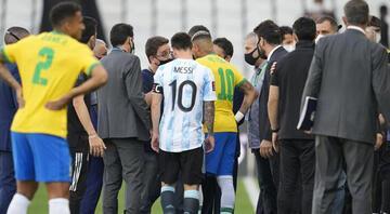 FIFAdan ertelenen Brezilya-Arjantin maçı değerlendirmesi: Esefle karşılıyoruz