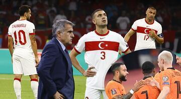 Hollanda 6 - 1 Türkiye (Maçın özeti ve golleri)