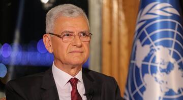 Dışişleri Bakanlığından Volkan Bozkıra tebrik mesajı