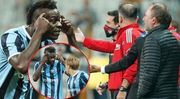 Son Dakika: Beşiktaş - Adana Demirspor maçına Balotelli damgası Sergen Yalçının yıllar önce yaptığı yorumu unutmadı ve...
