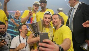 Fenerbahçe Basketbol Takımı Avrupa şampiyonu!