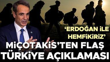Miçotakisten flaş Türkiye açıklaması Erdoğan ile hemfikiriz