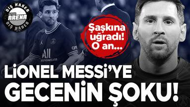 PSGde Messi ve Mauricio Pochettino arasında gerilim Şaşkına uğradı