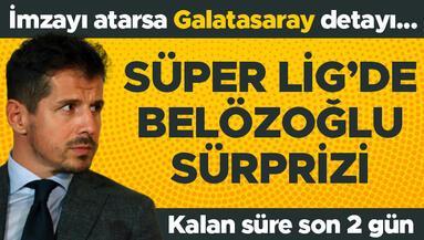 Süper Ligde Belözoğlu sürprizi İmzalarsa G.Saray detayı... Son 2 gün...