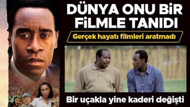 Dünya onu Hotel Rwanda filmiyle tanıdı... Gerçek hayatı da filmleri aratmadı