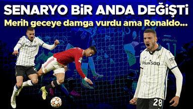 Merih Demiral, M. United maçına damga vurdu Ronaldoyu yıkan goller...