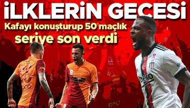 Beşiktaş-Galatasaray derbisinde ilklerin gecesi 50 maç sonra...