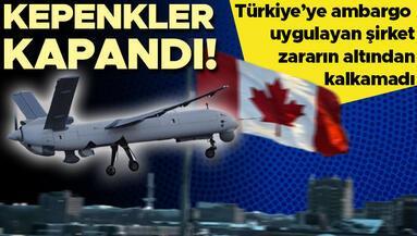 Türkiyeye silah ambargosu uygulamıştı... Kanadalı şirket Telemus battı