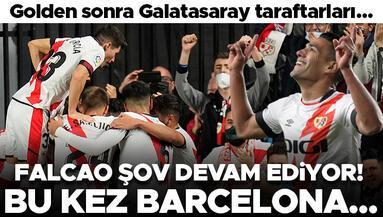 Radamel Falcao şov devam ediyor Bu kez Barcelona...