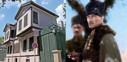 Atatürk'ün evini diline dolayan o alçağa sesleniyorum