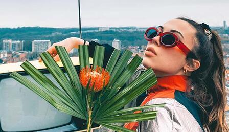 Türkiye Viral Top 20 listesinden düşmeyen Belçikalı yıldız Tanaë Kampüs'te!