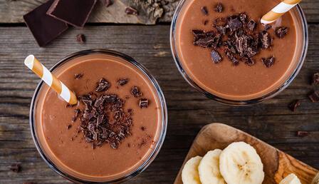 Sıcak havalarda ferahlatacak kahveli smoothie