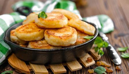 Bir de bu tarifle deneyin: Lor peynirli pancake