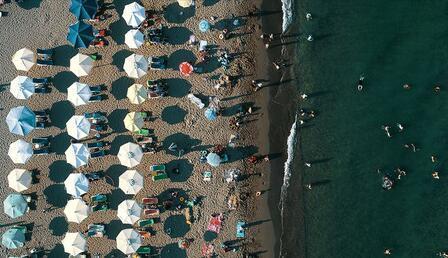 Mavi bayrakta dünya üçüncüsü Türkiye'nin ödüllü plaj sayısı 486 oldu