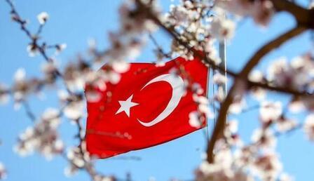 Türk Bayrağı görselleri - Türk Bayraklı bayram mesajları (Ramazan Bayramı mesajları resimli)