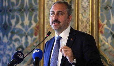 Adalet Bakanı Abdulhamit Gül'den baro ve Ayasofya açıklaması