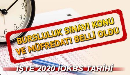 Bursluluk sınavı konu ve müfredatını Bakan Selçuk açıkladı: MEB 2020 Bursluluk sınavı ne zaman?