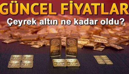 Altın fiyatları (gram, çeyrek ve yarım altın) düştü mü, ne kadar oldu? Altın fiyatları canlı takip ekranı ile güncel altın fiyatları takip ediliyor