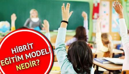 Hibrit eğitim nedir, ne demek? Hibrit eğitim modeliyle ilgili MEB açıklamaları