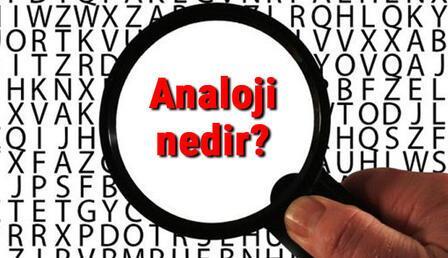 Analoji nedir? Benzeşim ne demek? Analoji türleri ve örnekleri