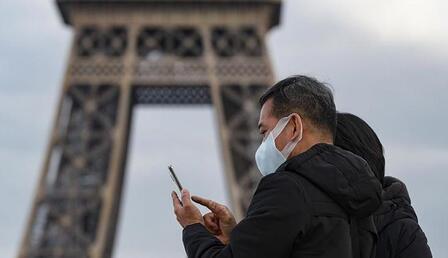 Fransa'da son 24 saatte 21 bin 271 koronavirüs vakası görüldü