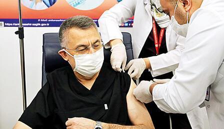 Cumhurbaşkanı Yardımcısı Oktay: Vatandaşlar aşısını olsun