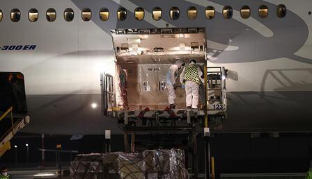 6,5 milyon Sinovac aşısını taşıyan uçak İstanbul Havalimanı'na iniş yaptı