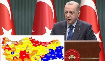Türkiye'nin risk haritası belli oldu: Düşük ve orta riskli iller hangileri? Hangi iller yüksek ve çok yüksek riskli?