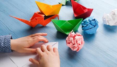 Origami ile matematik eğitimi