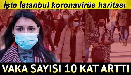 İstanbul risk haritası: İstanbul'da koronavirüs(covid-19) vaka sayısı ne kadar? Sağlık Bakanı Koca duyurdu